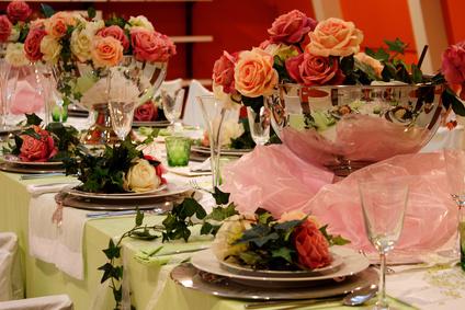 Stilvolle Dekoration zu Hochzeiten und Event in Erfurt und Thüringen - Bild: Diana-Kosaric - Fotolia.com